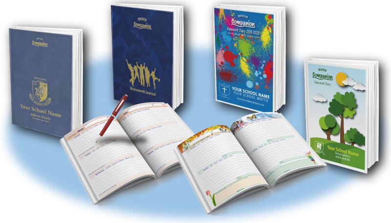 OBrien School Diaries : PRIMARY Homework Layouts